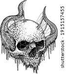 Rotting Skull  Dot...