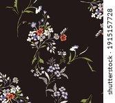 beautiful vintage floral... | Shutterstock .eps vector #1915157728