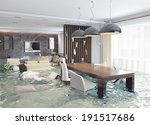 Flooding In Luxurious Interior...