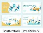 advertising landing page vector ...   Shutterstock .eps vector #1915201072
