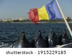 The Flag Of Romania Hoisted On ...
