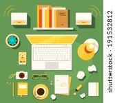 color bright illustration... | Shutterstock .eps vector #191532812