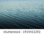 Calm Dark Blue Ocean Smooth...