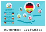 germany natioanal team matches...   Shutterstock .eps vector #1915426588