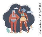 cartoon vector illustration of... | Shutterstock .eps vector #1915439905
