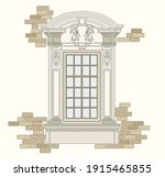 ancient roman and historical... | Shutterstock .eps vector #1915465855