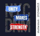 unity makes strength new york...   Shutterstock .eps vector #1915466515