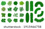 top view bushes and trees....   Shutterstock .eps vector #1915466758