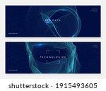 quantum innovation computer....   Shutterstock .eps vector #1915493605