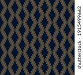 geometric pattern. gold on dark ... | Shutterstock .eps vector #1915499662