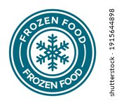 keep frozen or freeze product... | Shutterstock .eps vector #1915644898