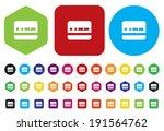 identification card | Shutterstock .eps vector #191564762