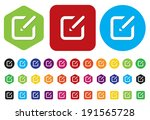 subscribe icon | Shutterstock .eps vector #191565728
