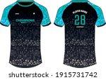 sports jersey t shirt design... | Shutterstock .eps vector #1915731742