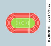 running track field icon....   Shutterstock .eps vector #1915779712