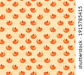 seamless pattern with simple... | Shutterstock .eps vector #1915785415