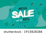 sale banner template design ... | Shutterstock .eps vector #1915828288