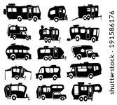 recreational vehicles | Shutterstock .eps vector #191586176