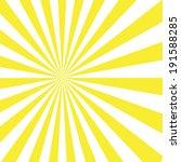 sunburst pattern. vector... | Shutterstock .eps vector #191588285