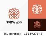 elegant flower ornamental  logo ... | Shutterstock .eps vector #1915927948
