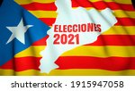 Local Election In Spain Concept....