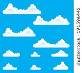 cloud backgrounds for endless...