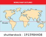 useful and changeable world map ...   Shutterstock .eps vector #1915984408