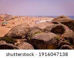 Big Granite Boulders On The...