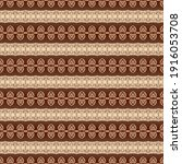 pattern abstract brown and red | Shutterstock . vector #1916053708