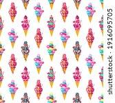 strawberry  vanilla  caramel ...   Shutterstock .eps vector #1916095705