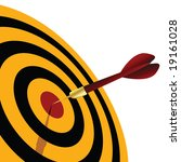 dart | Shutterstock .eps vector #19161028