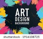 art design black business... | Shutterstock .eps vector #1916108725