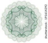 guilloche elements for... | Shutterstock .eps vector #191614292