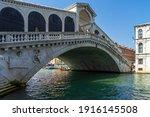 The Rialto Bridge On The Grand...