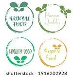 set leaf symbol vector icon... | Shutterstock .eps vector #1916202928