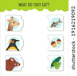 matching children educational... | Shutterstock .eps vector #1916219092