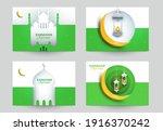 ramadan kareem islamic... | Shutterstock .eps vector #1916370242
