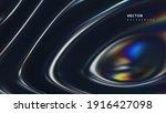 3d wavy fluorescent surface.... | Shutterstock .eps vector #1916427098