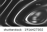 3d wavy metal surface. abstract ...   Shutterstock .eps vector #1916427302