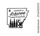 arkansas life style badge... | Shutterstock .eps vector #1916432552