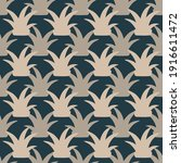 Seamless Pattern Of Succulents...