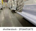 Nterior Shot Of A Subway Car