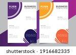 flyer brochure design template...
