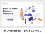 landing page template with...   Shutterstock .eps vector #1916687912