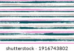 ink thin rough stripes vector... | Shutterstock .eps vector #1916743802