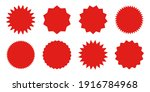 red shopping labels collection. ...   Shutterstock .eps vector #1916784968
