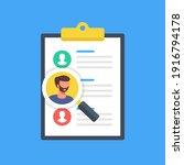 find employees. team management ...   Shutterstock .eps vector #1916794178