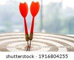 success goals targeting the... | Shutterstock . vector #1916804255