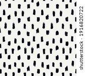 brush stroke seamless pattern.... | Shutterstock .eps vector #1916820722