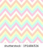 seamless chevron pattern | Shutterstock .eps vector #191686526